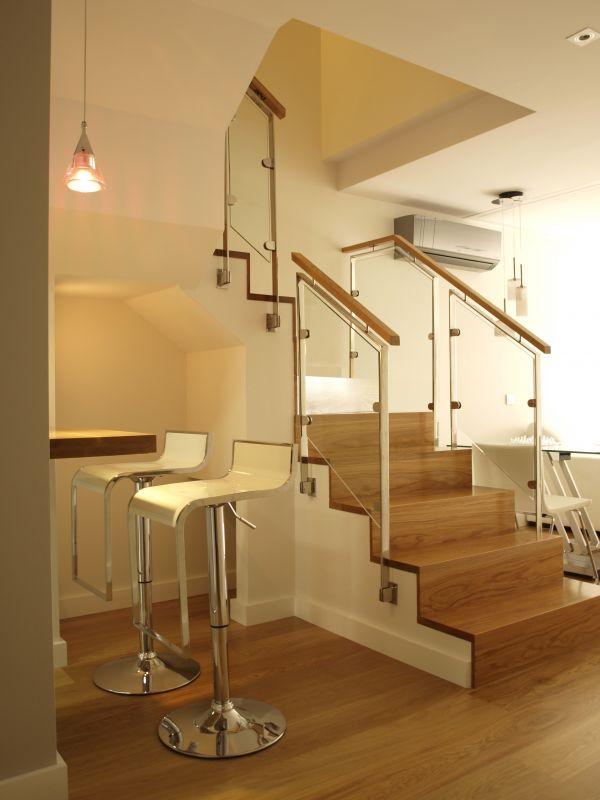 escaleras escalera de roble obra siete palmas